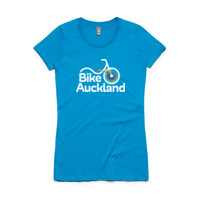 Fitted tee – Bike Auckland