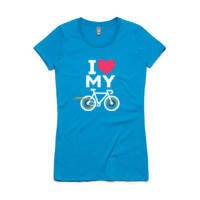 Fitted tee – road bike