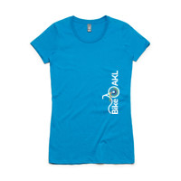 Fitted tee – Bike AKL vertical