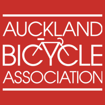 Regular fit – Auckland Bicycle Association – red, blue, charcoal Design