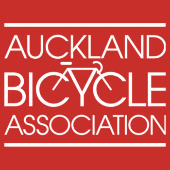 Slim fit – Auckland Bicycle Association – charcoal, red, blue Design