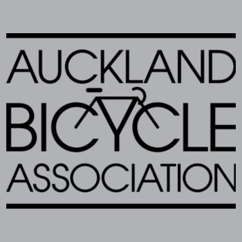 Scoop neck – Auckland Bicycle Association – grey marle, blue marle Design