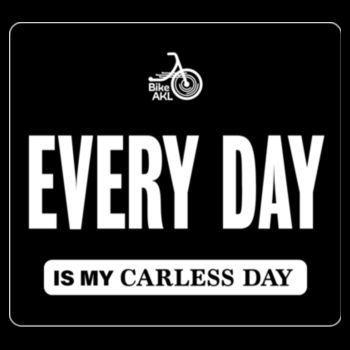 Scoop neck – Carless Days (EVERY DAY) – large print Design