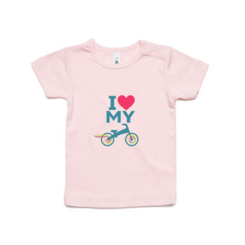 Infant wee tee – balance bike – blue, pink Thumbnail
