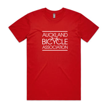 Regular fit – Auckland Bicycle Association – red, blue, charcoal Thumbnail
