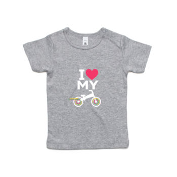 Infant wee tee – balance bike – grey, black Thumbnail