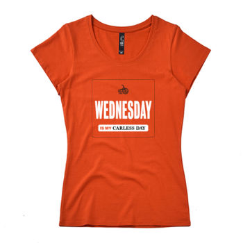 Scoop neck – Carless Days (Wednesday) – large print Thumbnail