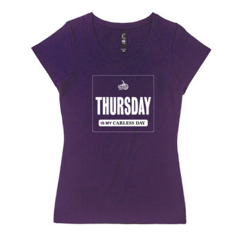 Scoop neck – Carless Days (Thursday) – large print Thumbnail