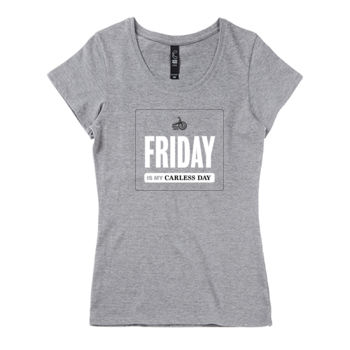 Scoop neck – Carless Days (Friday) – large print Thumbnail