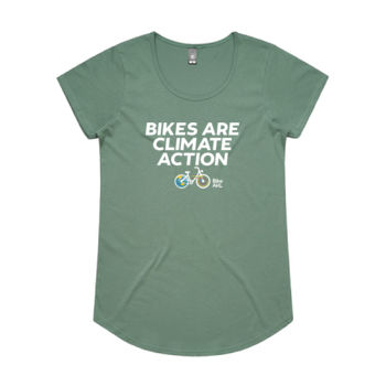 Scoop neck – Bikes are Climate Action Thumbnail